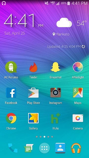 Note 4 Screenshots!  Show use those awesome home screens & more!-1429998130821.jpg