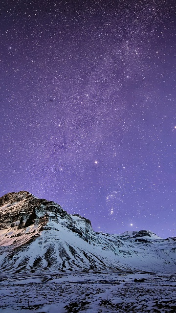 Share your Note 4 Wallpaper!-snow-mountain-stars-wallpaper-iphone-6-plus.jpg