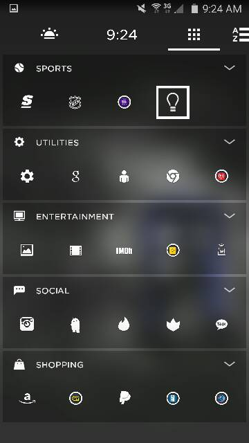 What are you using for your launcher? Any screen shots? Looking for very minimalistic-442.jpg