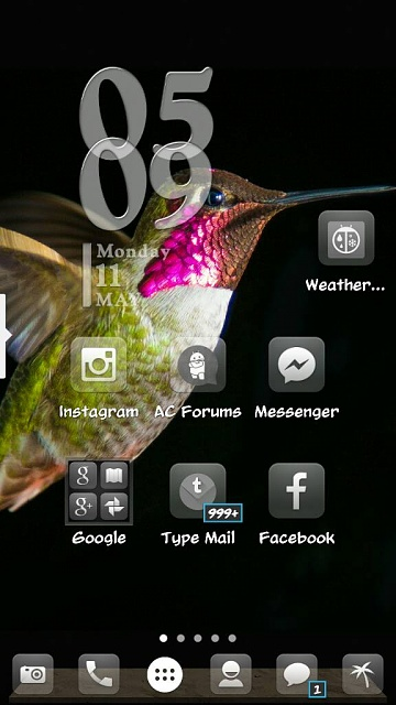 What are you using for your launcher? Any screen shots? Looking for very minimalistic-1431382319286.jpg
