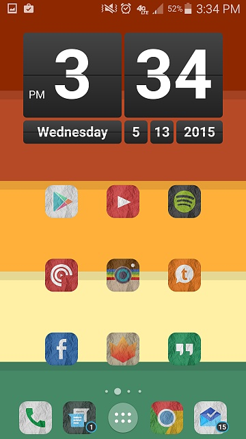 Note 4 Screenshots!  Show use those awesome home screens & more!-uploadfromtaptalk1431549381657.jpg