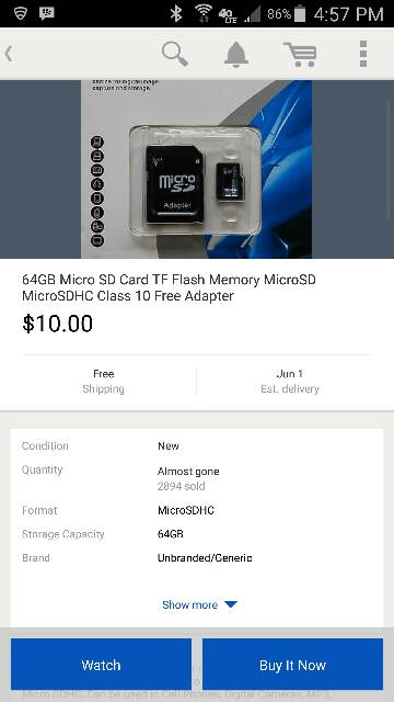 have anyone used this 64 mic SD card if so did you have any problems out of it-screenshot_2015-05-25-16-57-15.jpg