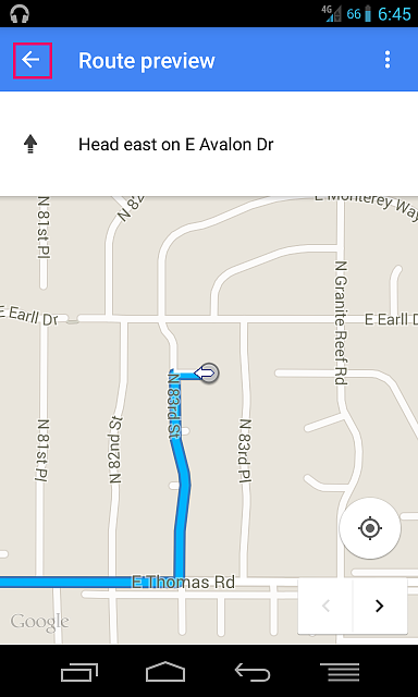 Can't find Google Maps navigation option (anymore?)-1.png