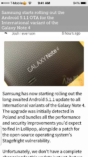 5.1.1 starting to roll out for international note 4 :)-screenshot_2015-08-27-09-41-40.jpg
