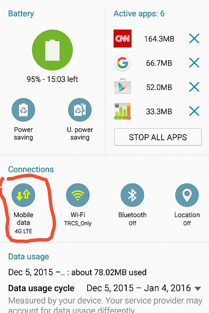 "Shorcut to ""Turn on/off Mobile Data"" from Notification Panel vs. Settings-screenshot_2015-12-06-07-42-58.jpg"