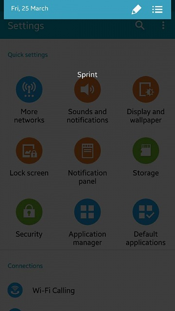 Sprint MM 6.0 update. Notification Panel/Shade is blank. All quick icons are missing I need help.-1458966637651.jpg