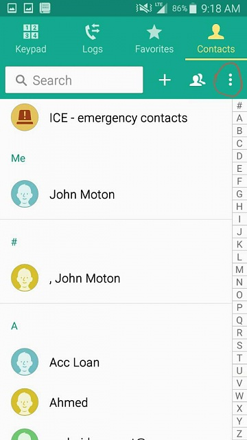 Unsynced contacts still stay in the phone book, any ideas why?-1460812799838.jpg