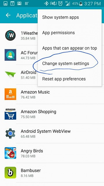 Screen Overlay Detected Android Forums At Androidcentral Com