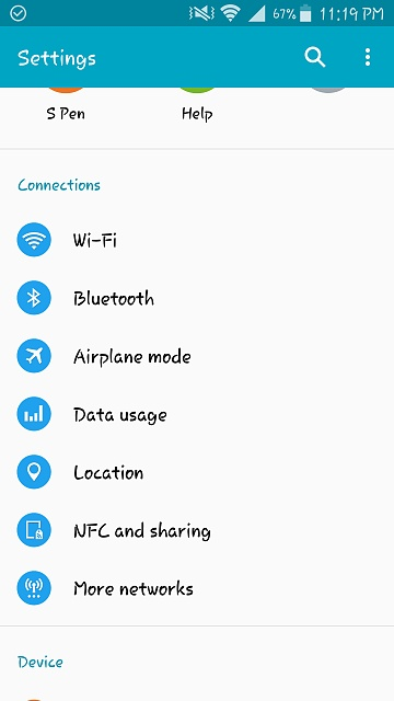 Hotspot option missing from my Samsung Galaxy Note4 - Android Forums