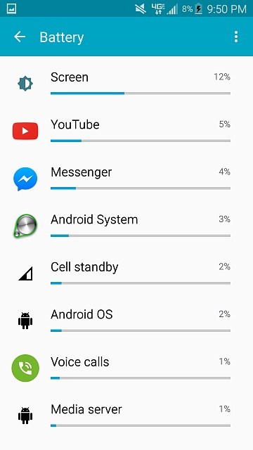 Severe battery drain after marshmallow update on t-mobile note 4