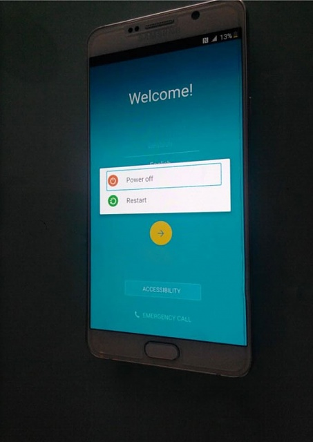 Samsung Note 5 (and S6 Edge+) Boot Screens (PICS)-note-5-power-screen.jpg