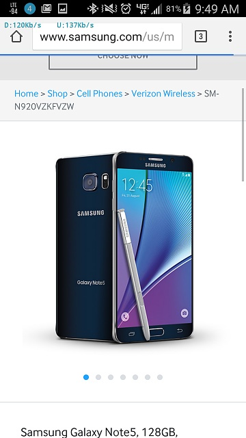 Note 5 to have 128gb option-uploadfromtaptalk1439484643939.jpg