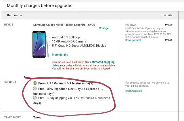 """I've ordered my Galaxy Note 5"" (Order & Shipping Discussion)-1439910081781.jpg"