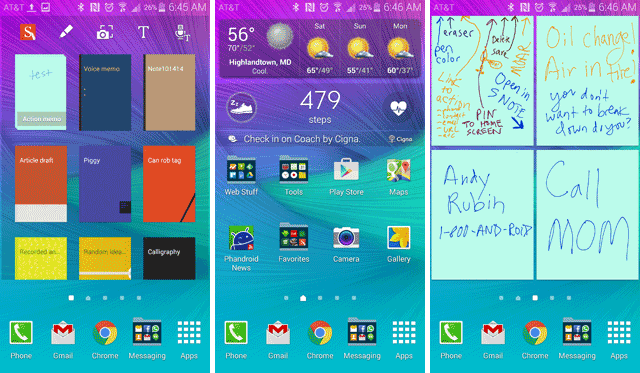 Where are the larger S-Note widgets?-note-4-home-screens.png
