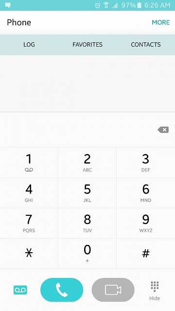 How can I paste a telephone number in the dialing screen?-1441970838037.jpg