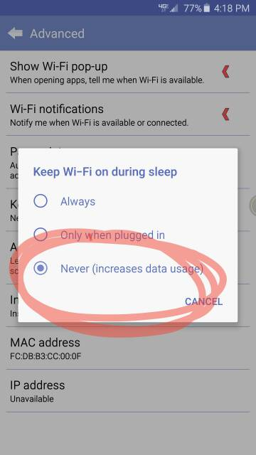 Why is my Note 5 wifi automatically connecting even though options are turned off?-466.jpg