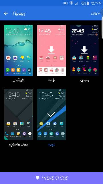 Samsung Galaxy S4 Themes Android free download