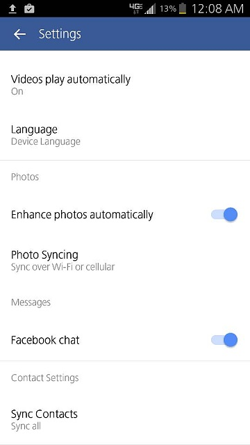 Facebook Contacts sync not working-1443327156056.jpg