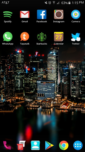 Note 5: Post Pictures Of Your Home Screen(s)-uploadfromtaptalk1443385021510.jpg