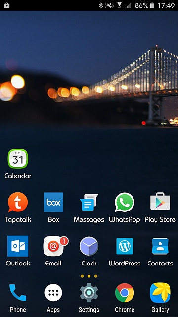 Note 5: Post Pictures Of Your Home Screen(s)-uploadfromtaptalk1443909052053.jpg