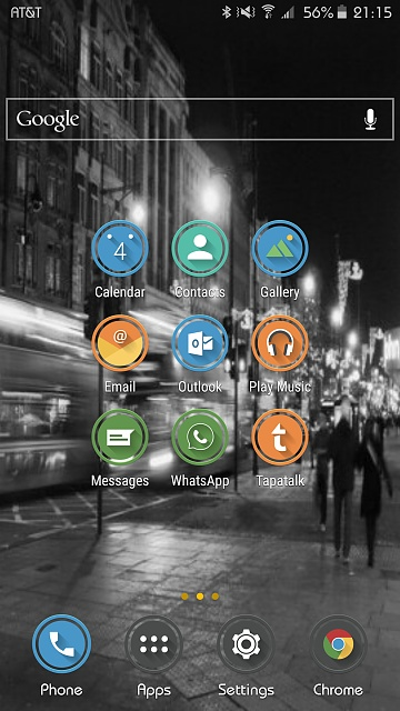 Note 5: Post Pictures Of Your Home Screen(s)-uploadfromtaptalk1444007763507.jpg