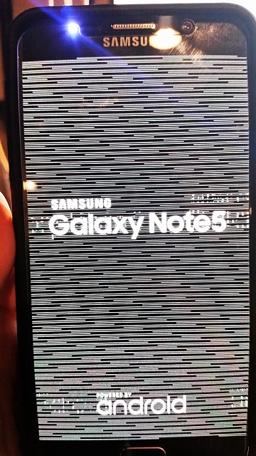Samsung Galaxy Note 5 problems - see attached photo-note5-1.jpg