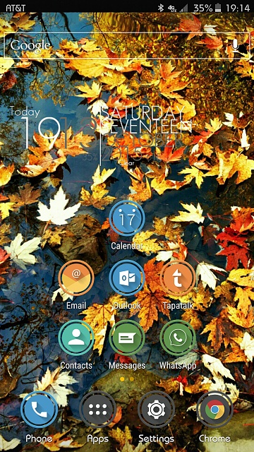 Note 5: Post Pictures Of Your Home Screen(s)-uploadfromtaptalk1445123739855.jpg