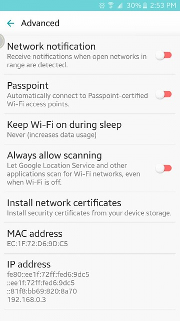 Why is my Note 5 randomly trying to connect to Wifi?-1446148498200.jpg
