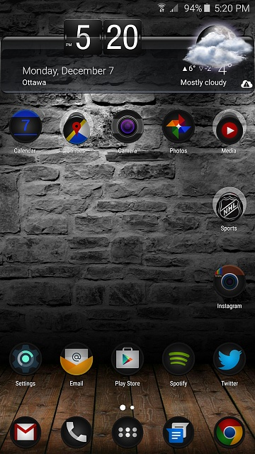 Note 5: Post Pictures Of Your Home Screen(s)-uploadfromtaptalk1449526852835.jpg