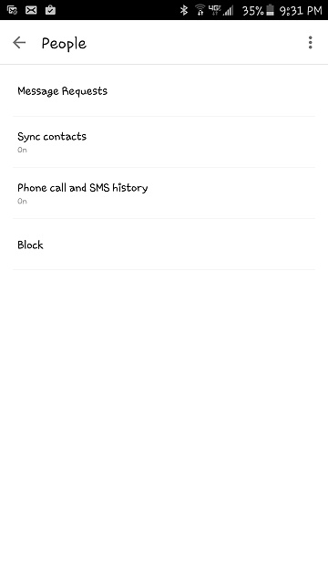 Facebook Contacts sync not working-messengerappsettings.jpg