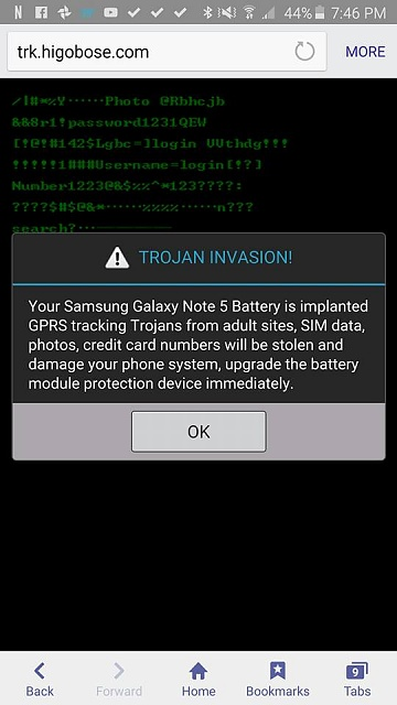 Trojan Invasion My note 5 keeps coming up with these random things on the webpages-12662565_172203169814570_5061466117729374786_n.jpg