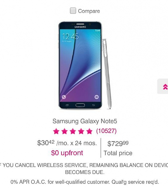 Note 5 is still 9 through Verizon (2 year contract) Leaving Note 7-3034.jpg