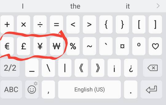 Help My Favorite Symbols Disappeared Off My Samsung Keyboard