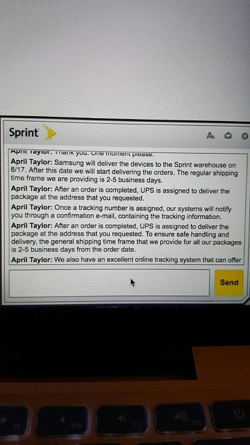 Sprint Note 7 shipping status-1471400514829.jpg