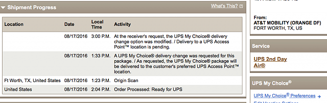 What does you AT&T order status say?-note-7-ups-shipment.png