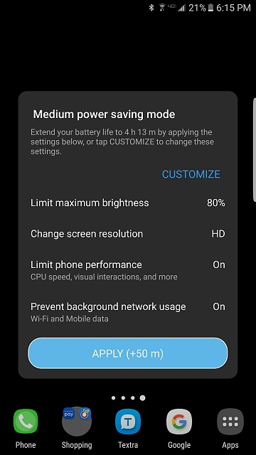 Tip for quickly turning on power saving mode-2016-08-26-22.15.09.jpg