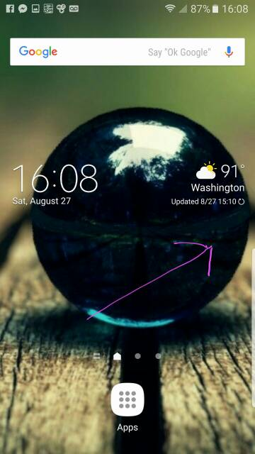 So the S-Pen out warning is the icon on screen?-1601.jpg