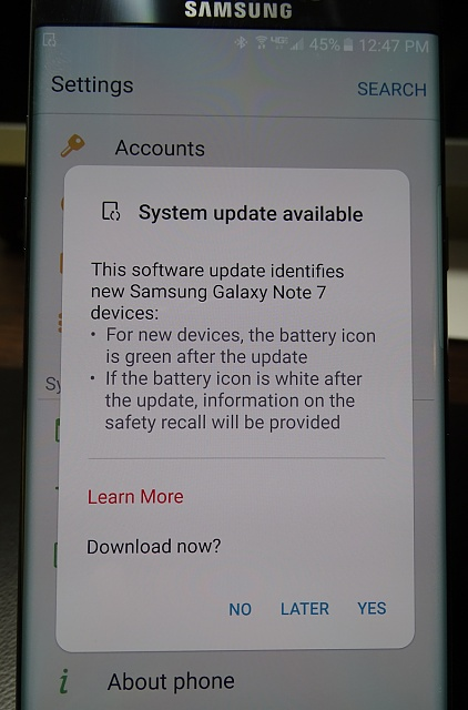Has anyone done the update that is still using the old note 7?-update.jpg
