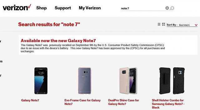 How long will it be until the Note 7 is available for sale again?-verizon.jpg