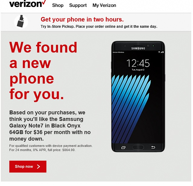 Can't believe the email I just got from Verizon!-verizonoffer.jpg