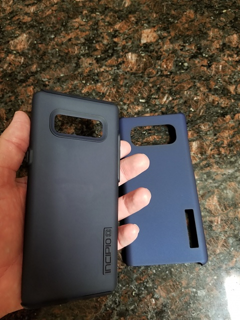 big sale df27a 12a10 Incipio DualPro Case Review for the Galaxy Note8 - Android Forums at ...