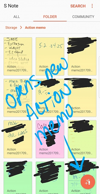 How to get back Action memo and S Note - Android Forums at