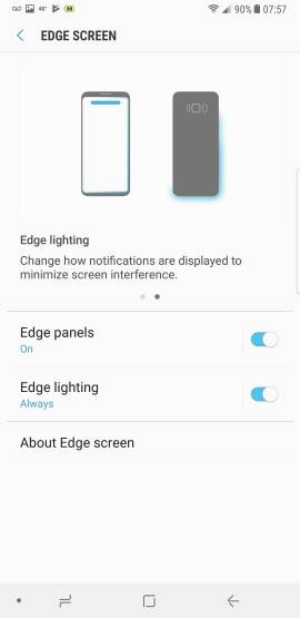 The Note 8 has a physical problem light leakage from edges-1558.jpg