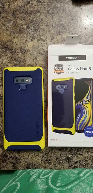 the best attitude c773a e690b Spigen neo hybrid blue/yellow case - Android Forums at ...