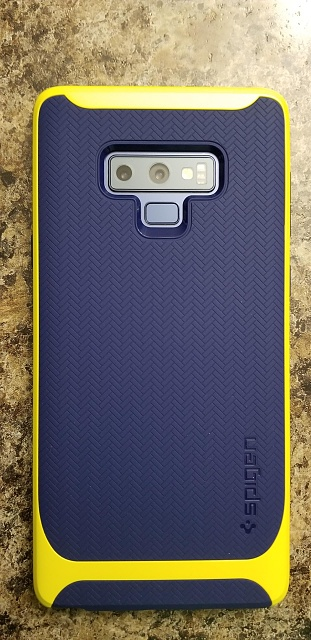 the best attitude 80acf ce197 Spigen neo hybrid blue/yellow case - Android Forums at ...
