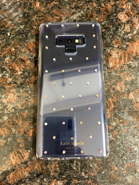 low priced 6ea24 281d0 REVIEW] Kate Spade Playful and Strong Case for the Galaxy Note 9 ...