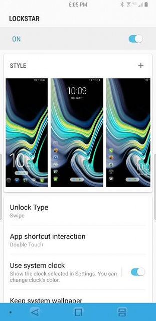 How can i change the lock screen clock position on a note 9-5562.jpg