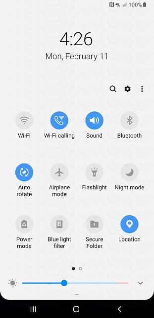 Quick Settings Color with Pie - Android Forums at AndroidCentral com