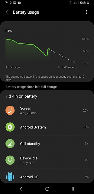 Why is my battery life draining quickly after pie update?? Note9-screenshot_20190214-191232_settings.jpg