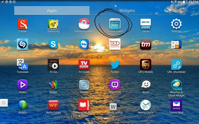 Remove screen saver - Android Forums at AndroidCentral com